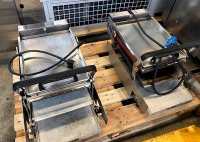 3 kpl Sämpyläpaahdin/toaster
